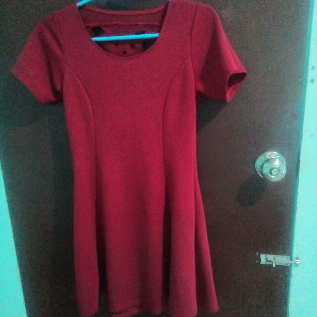 PRICE REDUCED!!!Offbeat Red Dress