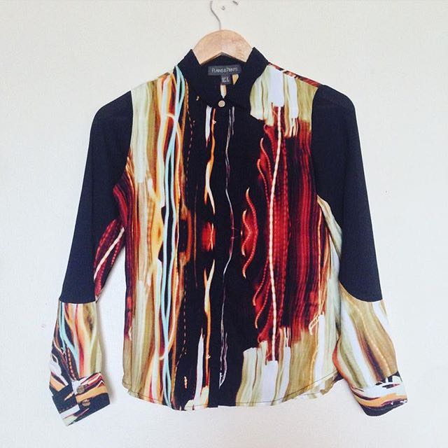 Plains & Prints Bright Streaks Longsleeves