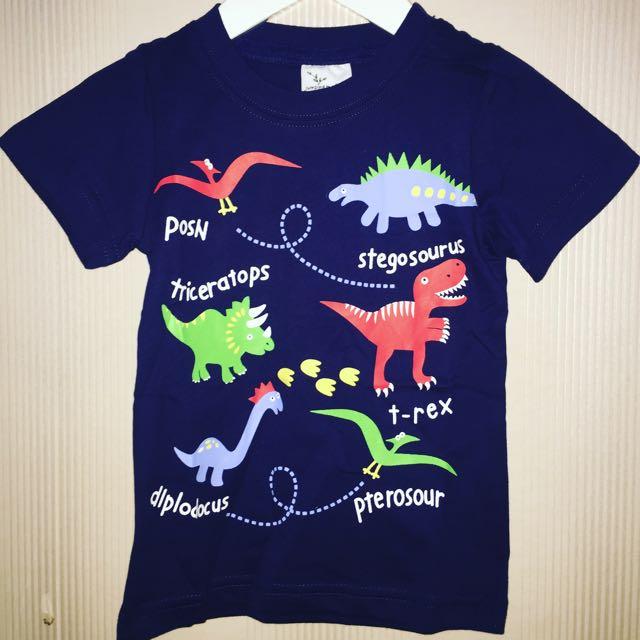 Premium Quality Boy Dinosaur Tshirt
