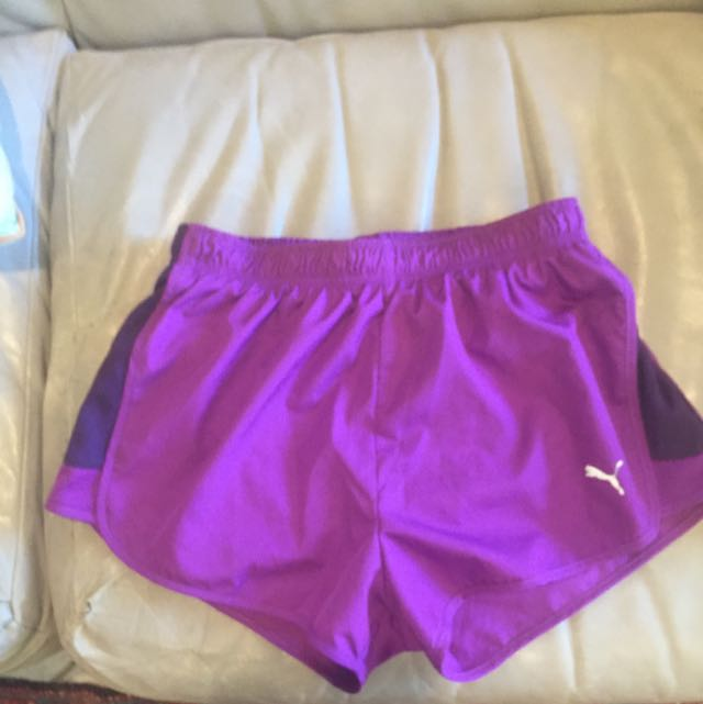 Purple Puma Work Out Pants