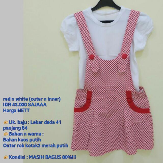 Red White Overall