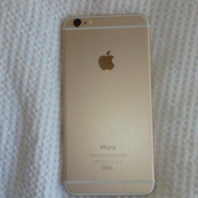 Rose Gold IPhone 6+