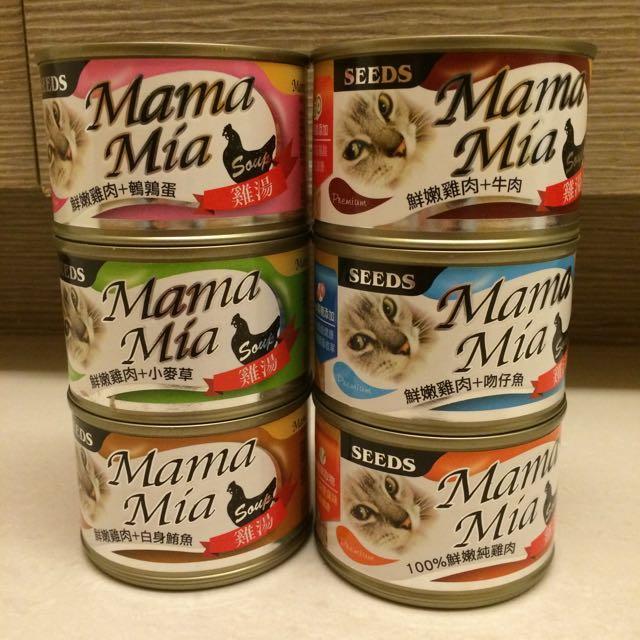 SEEDS《MaMa Mia貓餐罐》170gX6入