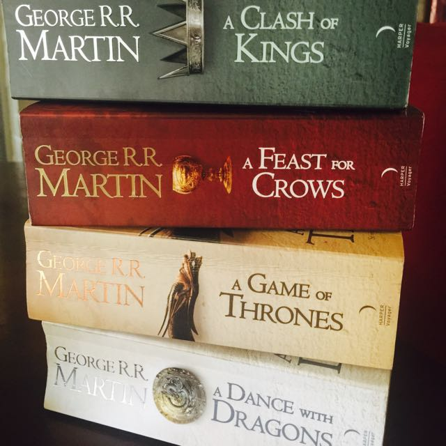 set of George R.R Martin Books