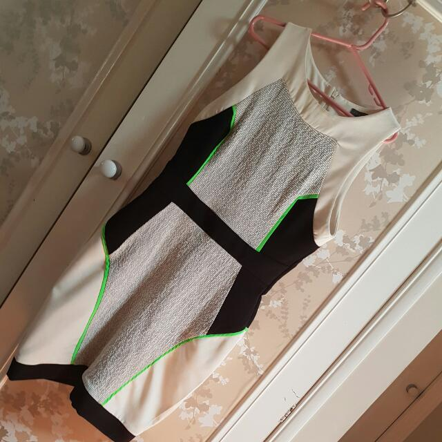 SHEIKE white/black Dress Size 10