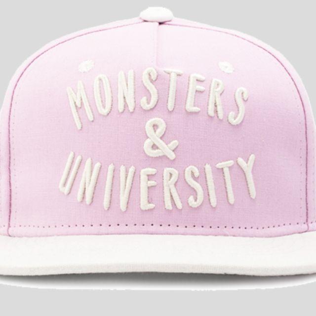 Song Ji Hyo  MONSTERS   UNIVERSITY PINK SNAPBACK CAP f39bd8e4e7cc