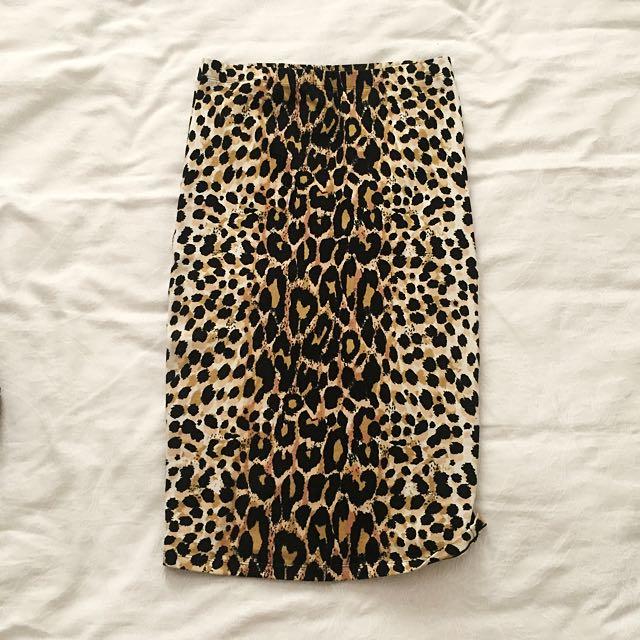 Sportsgirl Midi Tube Skirt