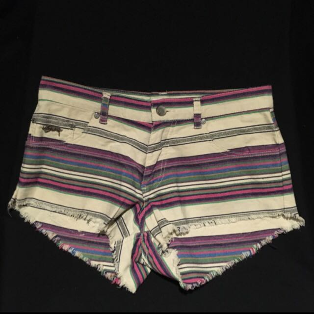 Stussy Multi Coloured Shorts Size 8