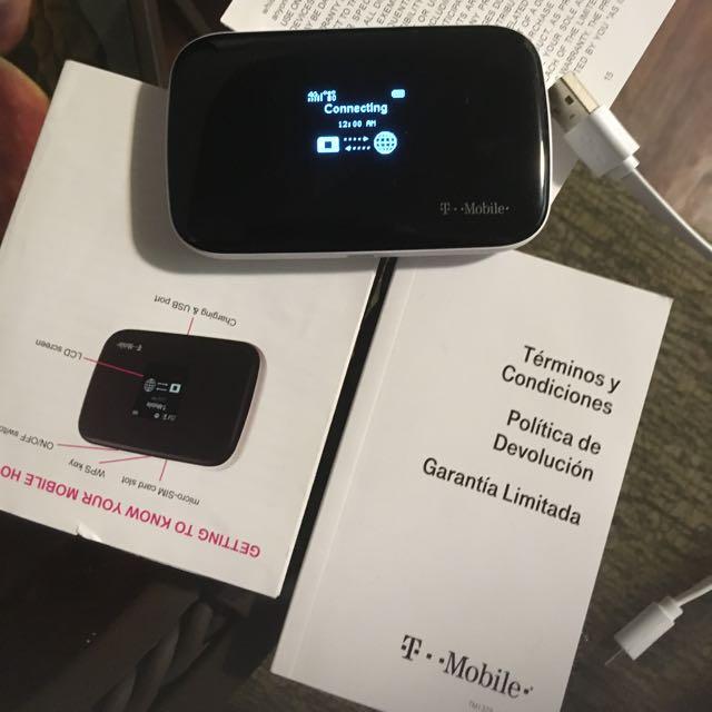 T Mobile 4 G Hot Spot