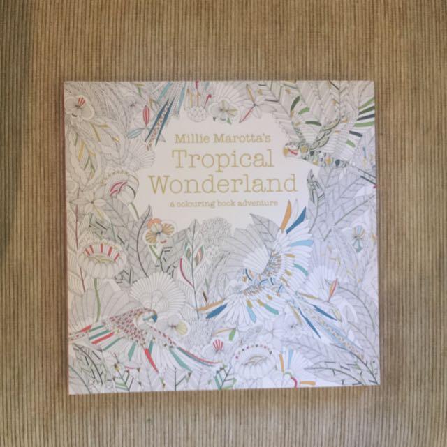 Tropical Wonderland Colouring Book