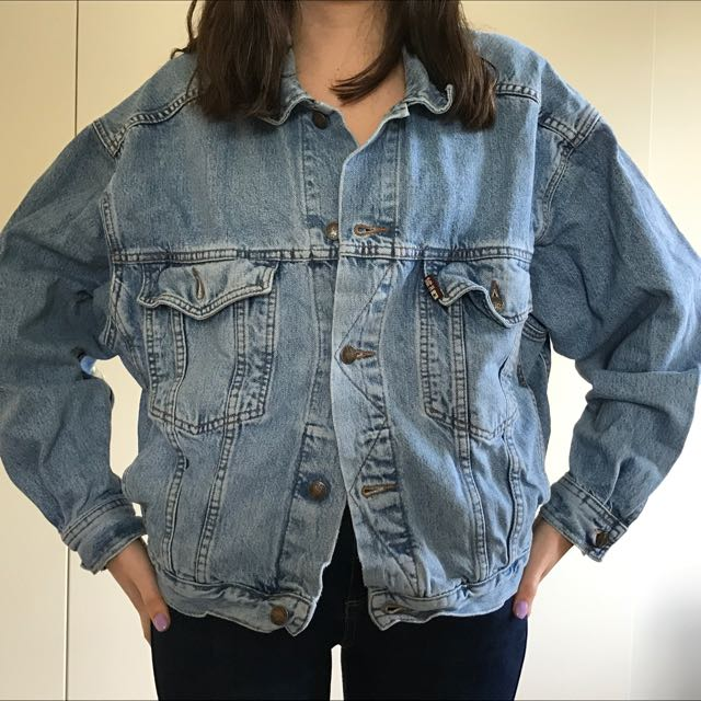 Vintage Oversize Denim Jacket