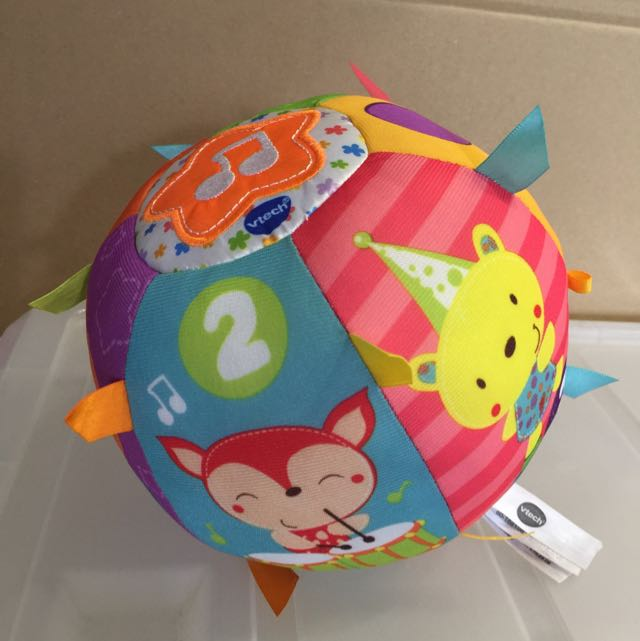 Frustration Free Packaging VTech Baby Lil Critters Roll and Discover Ball