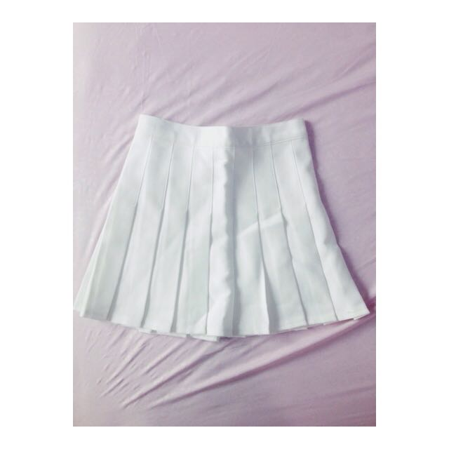 White Tenis Skirt