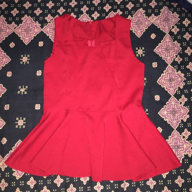 Womens Flare Top