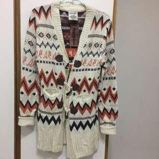 Sweet Camel 針織長版外套