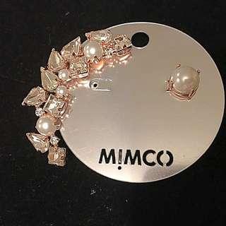 Mimco Varsity Crystal Ear Cuff