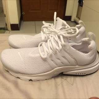 Nike air presto 全白 Us8