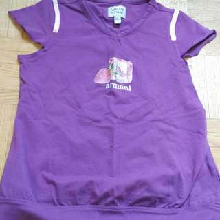 Armani T-shirt For Girls (6years)