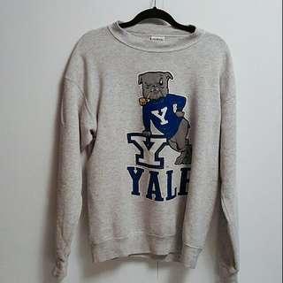 Vinatge Yale Crewneck