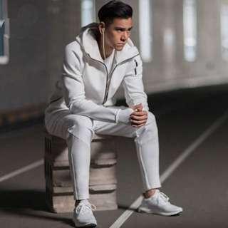 adidas Z.N.E. HOODIE 黑 白 愛迪達 連帽 外套 科技棉 長袖 貝克漢 彭于晏 新款