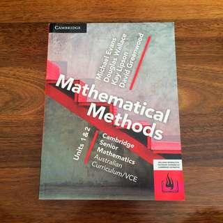 VCE Methods 1/2
