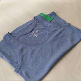 H&M Conscious Blue Marl Tight Fit S