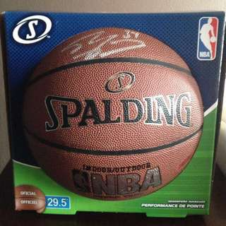 Shaquille O'Neill Signed Basketball