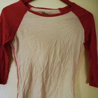 ALL ABOUT EVE BASEBALL TEE