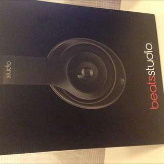 Beats Studios (wireless) Matte Black
