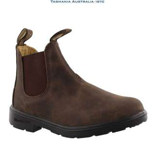 BROWN BLUNDSTONES