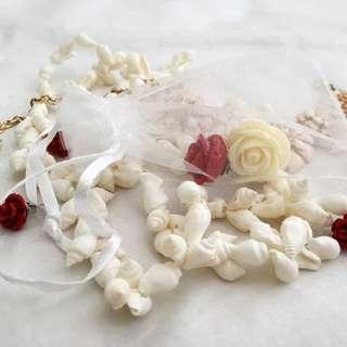 Artisan Rose Stud Earrings (small)