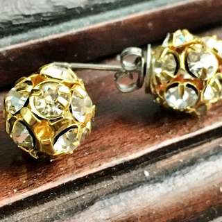Diamond Gold Stud