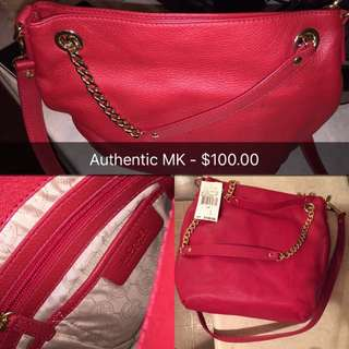 Authentic MK Side Bag/purse