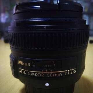 Nikkor 50mm F1.8G