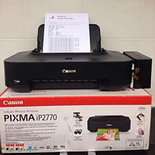 Printer Canon Pixma Ip2770 Full Infus