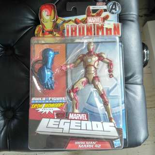 "Marvel Legends Ironman Mark 42  6"" Iron Man 6吋 全新 BAF iron monger  只限黃埔 或 紅磡 站交收"