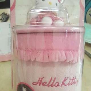 Hello Kitty 車用置物筒