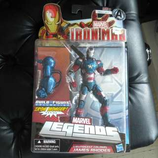 "Marvel Legends Iron Man Iron Patriot 6""  6吋 全新 BAF iron monger"