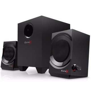 <<全新行貨>> CREATIVE SOUND BLASTERX KRATOS S3 2.1電競音箱