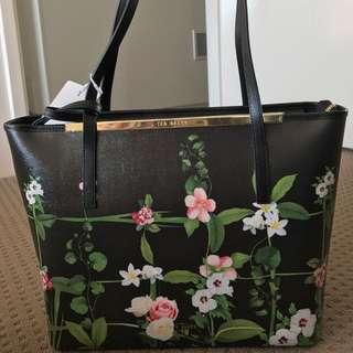 Authentic* Ted Baker Secret Trellis Shopper Tote Bag