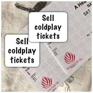 Cold Play Tickets On Sale