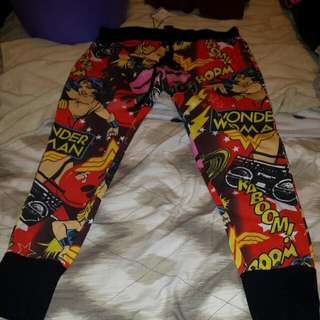 Wonder Woman Pyjama pants Size 16