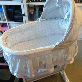 Bily Owl 2 In 1 Bassinet