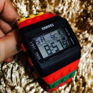 shhors lego watch