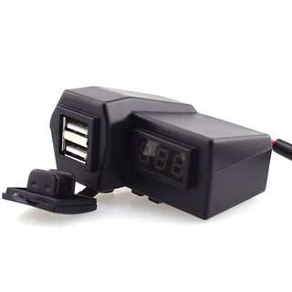 USB Charger + Voltmeter