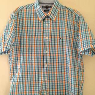 Tommy Hilfiger Short Sleeve Shirt Size M