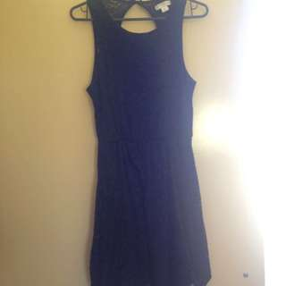 Black Lace Dress From Cotton On