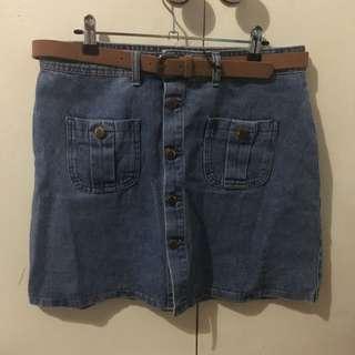 70s Style Mini Skirt