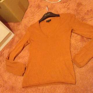 Bardot V Neck Long Sleeve Sz 6