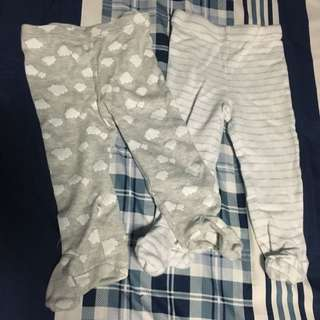 Baby M & Co Pants With Booties